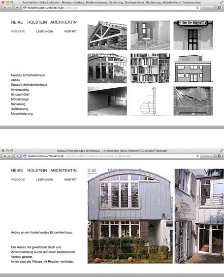 Konzeption und Umsetzung der Webseite