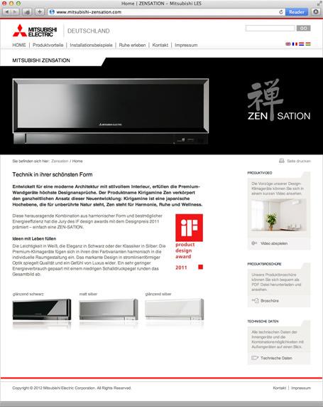Konzeption und Entwicklung der Webseite