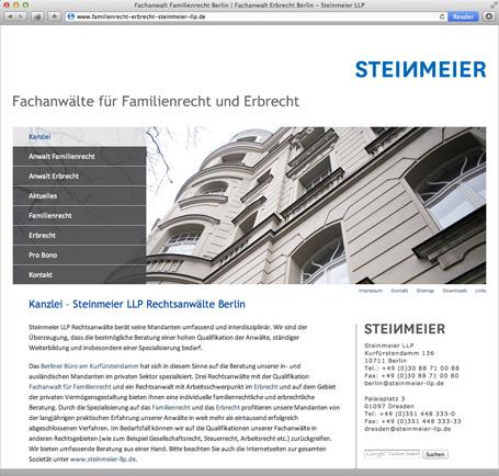 Programmierung der Webseite, Einrichtung Blog-System